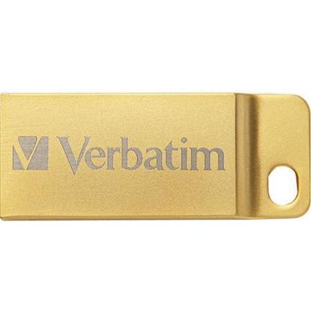 STICK USB VERBATIM METAL EXECUTIVE USB 3.0 DRIVE GOLD 16GB 99104