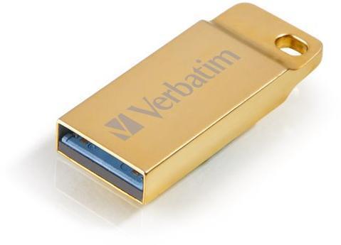 STICK USB VERBATIM METAL EXECUTIVE USB 3.0 DRIVE GOLD 64GB 99106