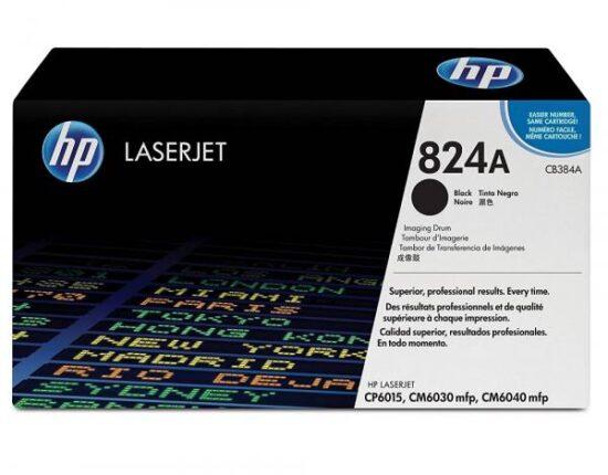 UNITATE CILINDRU BLACK NR.824A CB384A 23K ORIGINAL HP LASERJET CP6015N