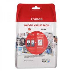 VALUE PACK PG-560XL/CL-561XL GP-501 50 COLI ORIGINAL CANON PIXMA TS5350