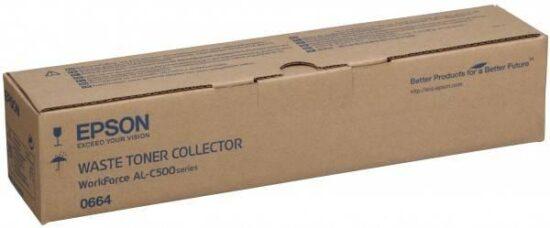 WASTE TONER COLLECTOR C13S050664 25K/75K ORIGINAL EPSON WORKFORCE AL-C500DN