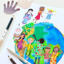 Creioane Colorate Children Of The World Faber-Castell