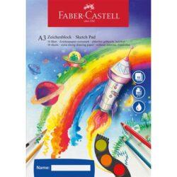 Bloc Desen Acuarela A3 Faber-Castell