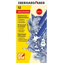 Roller 0.6mm Albastru Erase It! Eberhard Faber