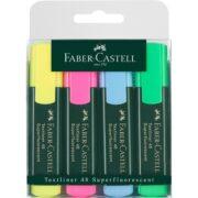 Textmarker Set 4 Culori 1548 Faber-Castell
