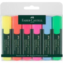 Textmarker Set 6 Culori 1548 Faber-Castell