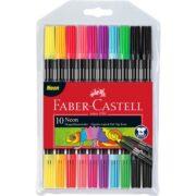 Carioca 10 Culori 2 Capete Culori Neon Faber-Castell