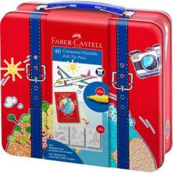 Carioca 40 Culori Connector Valiza Faber-Castell