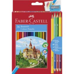 Creioane Colorate 36+3+1 Culori Eco Faber-Castell