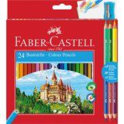Creioane Colorate 24+3 Culori Eco Faber-Castell