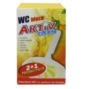 AKTIV ODORIZANT WC LEMON PROMO PACK 2+1