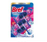 BREF ODORIZANT WC BILE 3X50G AKTIV COLOR FLOWER