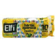 ELFI HARTIE IGIENICA 10ROLE 2STRATURI FAMILY