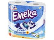 EMEKA HARTIE IGIENICA 4ROLE 3STRATURI OCEAN BREEZE
