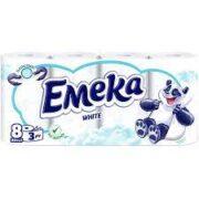 EMEKA HARTIE IGIENICA 8ROLE 3STRATURI WHITE