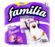 FAMILIA HARTIE IGIENICA PARFUMATA 3STR 4 ROLE MAGIC FLOWER