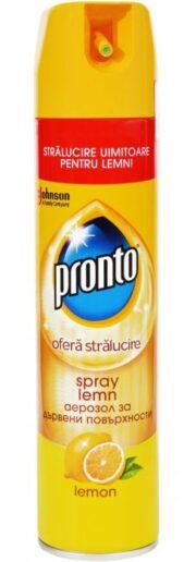 PRONTO SPRAY MOBILA 300ML CLASSIC LEMON