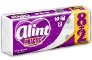 ALINT PRACTIC HARTIE IGIENICA 2STR LAVANDA 10ROLE