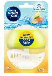 AMBI PUR ODORIZANT WC 5IN1 FRESH&CLEAN TEA LEMON&MANDARIN 55ML