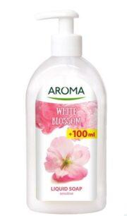AROMA SAPUN LICHID WHITE BLOSSOM 500ML