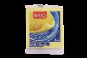 BRIO LAVETE UMEDE 3BUC/SET 14X16 CM 312506