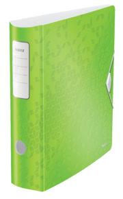 BIBLIORAFT PLASTIFIAT 7.5CM 180GRADE VERDE ACTIVE WOW LEITZ