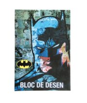 BLOC DESEN A4 160G 16 COLI LICENTE BATMAN PIGNA