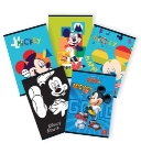 CAIET A5 80F AR LICENTE MICKEY MOUSE PIGNA