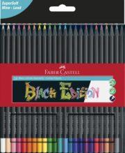CREIOANE COLORATE 24 CULORI BLACK EDITION FABER-CASTELL