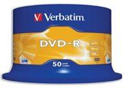DVD-R 50/SET VERBATIM 4.7GB 16X 43548