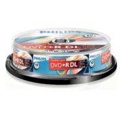 DVD+R DL 10/SET PHILIPS 8.5GB 8X