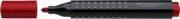 MARKER PERMANENT ROSU VARF ROTUND GRIP 1504 FABER-CASTELL