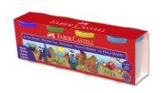 PLASTILINA 4*130G CULORI CLASICE FABER-CASTELL