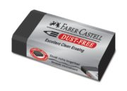 RADIERA CREION DUST FREE NEAGRA 24 FABER-CASTELL